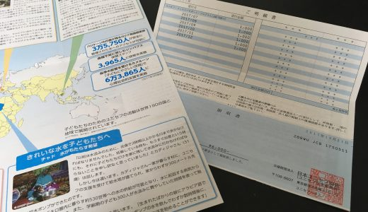 寄付の領収書はいつ届く?確定申告に間に合う?主要NGOの事例をチェック